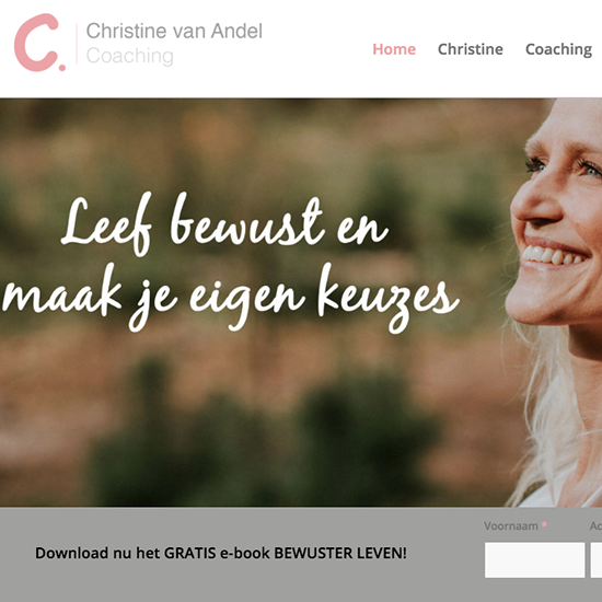 christine van Andel Coaching